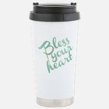 Cute Bless your heart Travel Mug