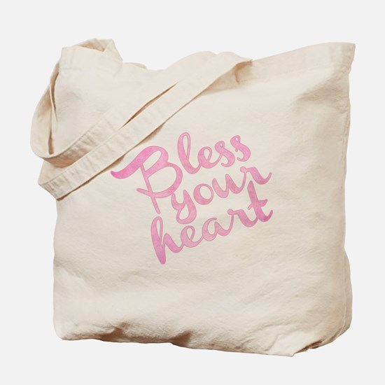 Cute Bless your heart Tote Bag