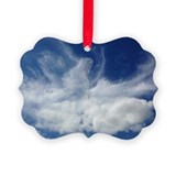 Cloud Picture Frame Ornaments