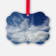 Jesus in Clouds Ornament