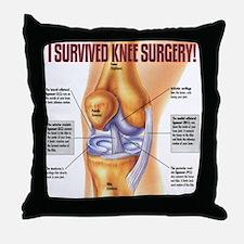 Knee Surgery Gift 1 Throw Pillow
