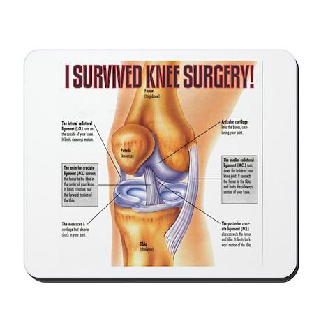 Knee Surgery Gift 1 Mousepad
