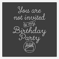 Basic Invitation-Square Invitations