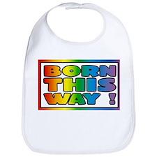 Born this way. Gay lesbian Bib