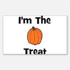 I'm The Treat (pumpkin) Rectangle Decal