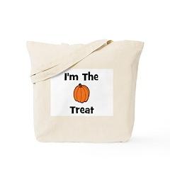 I'm The Treat (pumpkin) Tote Bag