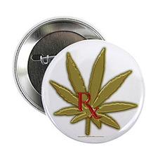 Rx Marijuana Button