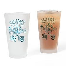 Bahamas Surf Team Drinking Glass
