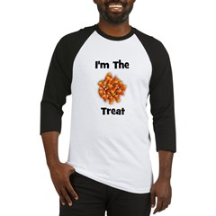 I'm The Treat (candy corn) Baseball Jersey