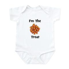I'm The Treat (candy corn) Infant Bodysuit