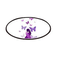 Purple Awareness Ribbon Patch