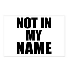 Not in My Name Postcards (Package of 8)