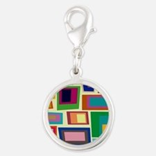 Colorful Square Mid Century Modern Charms
