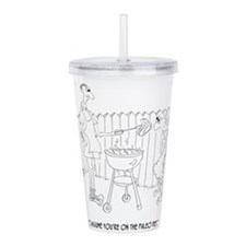 Diet Cartoon 9272 Acrylic Double-wall Tumbler