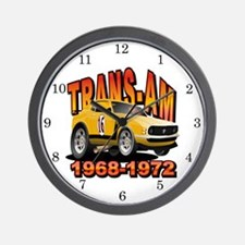 Trans Am Racing Series Wall Clock