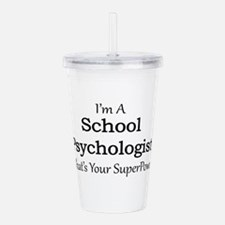 School Psychologist Acrylic Double-wall Tumbler