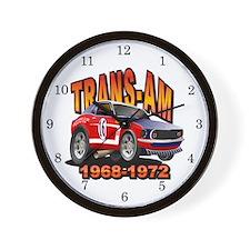 Trans Am Racing Series Wall Clock