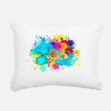 Splat Cluster Rectangular Canvas Pillow