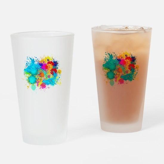 Splat Cluster Drinking Glass