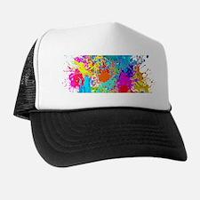 Splat Vertical Trucker Hat