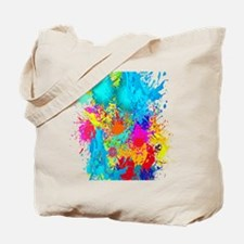 Splat Vertical Tote Bag