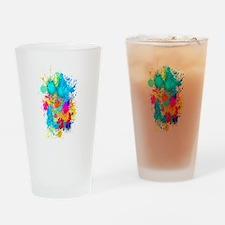 Splat Vertical Drinking Glass