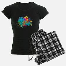 Splat Cluster Pajamas