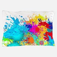 Splat Cluster Pillow Case