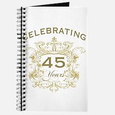 45th Wedding Anniversary Journal