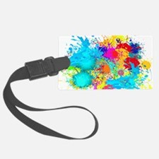 Splat Cluster Luggage Tag