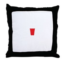 CLFF Red Cup Throw Pillow