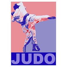 Judo Throw Poster