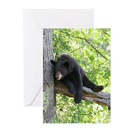 black bear 2007 Greeting Cards (Pk of 10)