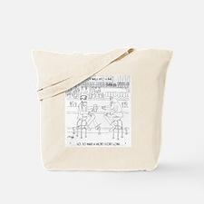 Literature Cartoon 9267 Tote Bag
