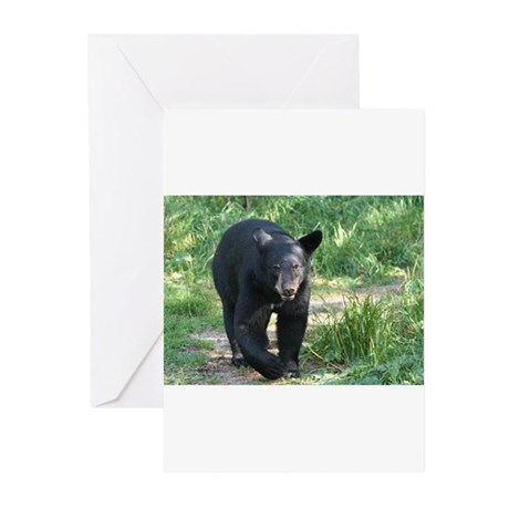 black bear 2007 Greeting Cards (Pk of 20)