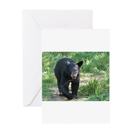 black bear 2007 Greeting Card