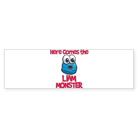Liam Monster Bumper Sticker