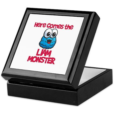 Liam Monster Keepsake Box