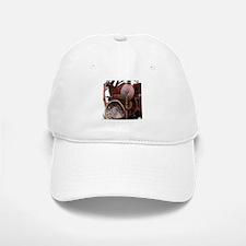 grunge Mechanical Gears rustic Baseball Baseball Cap