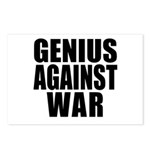 Genius Against War Postcards (Package of 8)