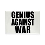 Genius Against War Rectangle Magnet