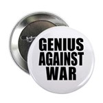 Genius Against War Button