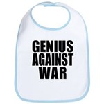 Genius Against War Bib