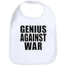 Genius Against War Bib