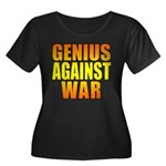 Genius Against War Women's Plus Size Scoop Neck Da