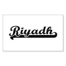 Riyadh Saudi Arabia Classic Retro Design Decal