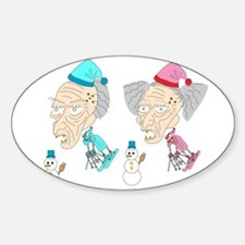 micchiee / old people / ski Decal