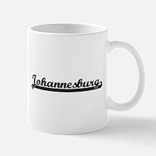 Johannesburg South Africa Classic Retro Desi Mugs