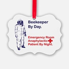 Beekeeper by day Ornament