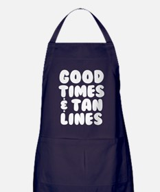 Good Times and Tan Lines Apron (dark)